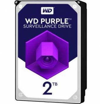 هارد2 ترابایت اینترنال وسترن دیجیتال مدل Purple