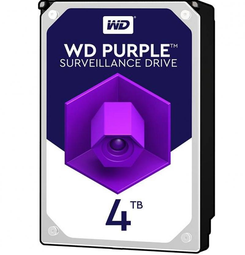 هارد4 ترابایت اینترنال وسترن دیجیتال مدل Purple