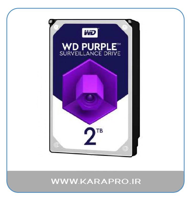 هارد 2 ترابایت وسترن بنفش Purple